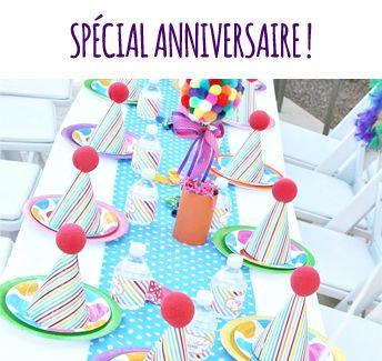 Déco spécial anniversaire