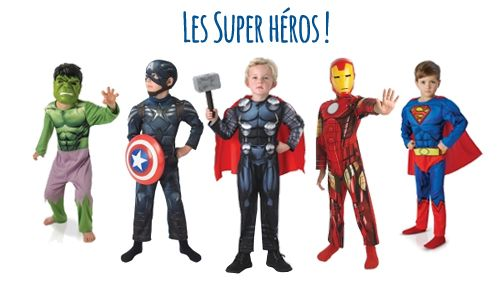 Costumes Super Héros