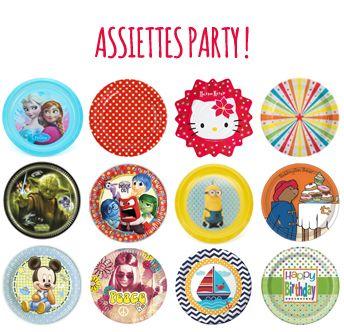 Assiettes Party !