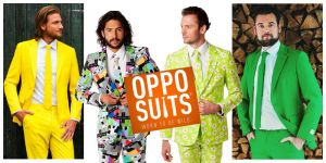 Faites sensation en portant un costume Opposuits™