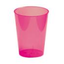 6 verres en plastique rigide fuchsia 30 cl