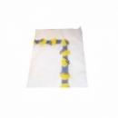 100 serviettes en papier citronnier 30x40 cm