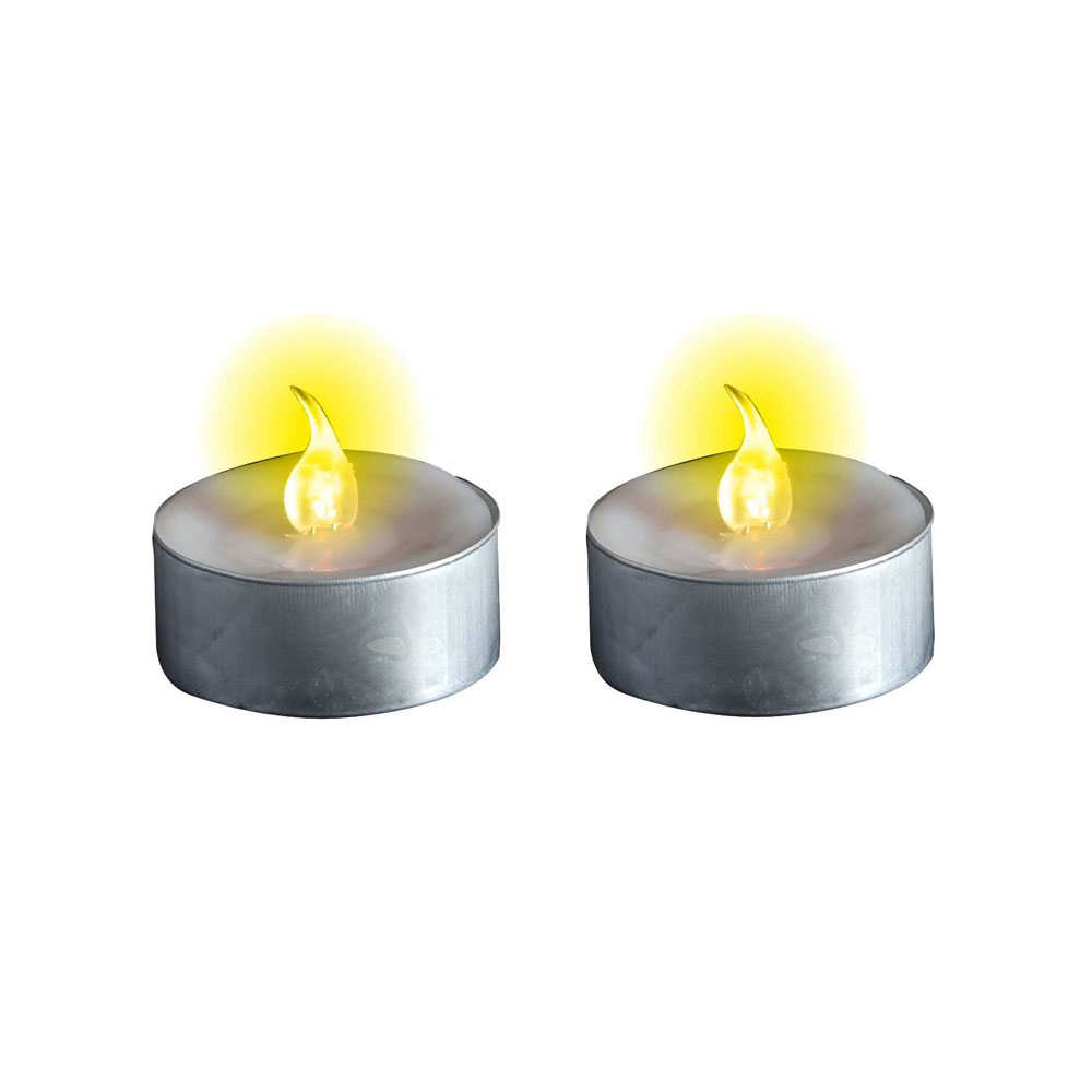 2 bougies chauffe plat lumineuses led. Black Bedroom Furniture Sets. Home Design Ideas