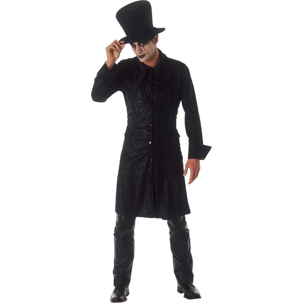 d guisement magicien gothique homme halloween. Black Bedroom Furniture Sets. Home Design Ideas