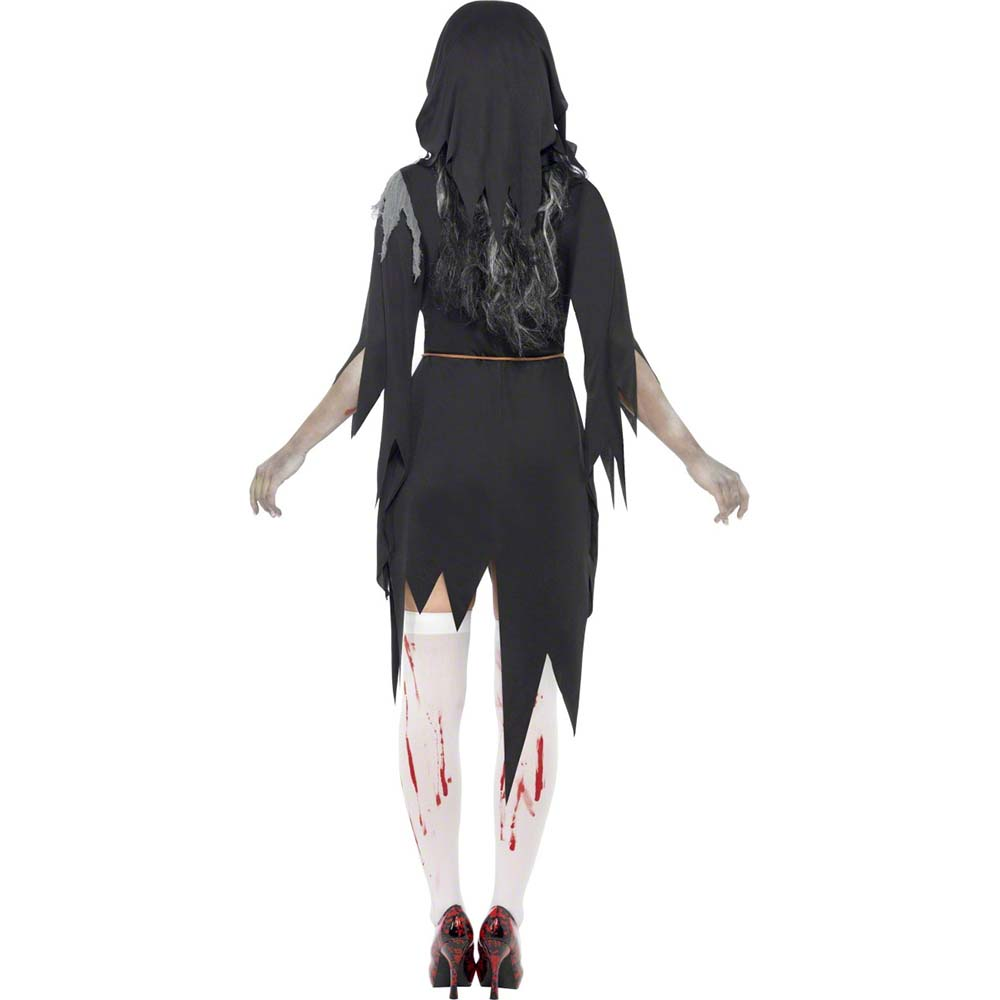 d guisement zombie religieuse femme halloween. Black Bedroom Furniture Sets. Home Design Ideas