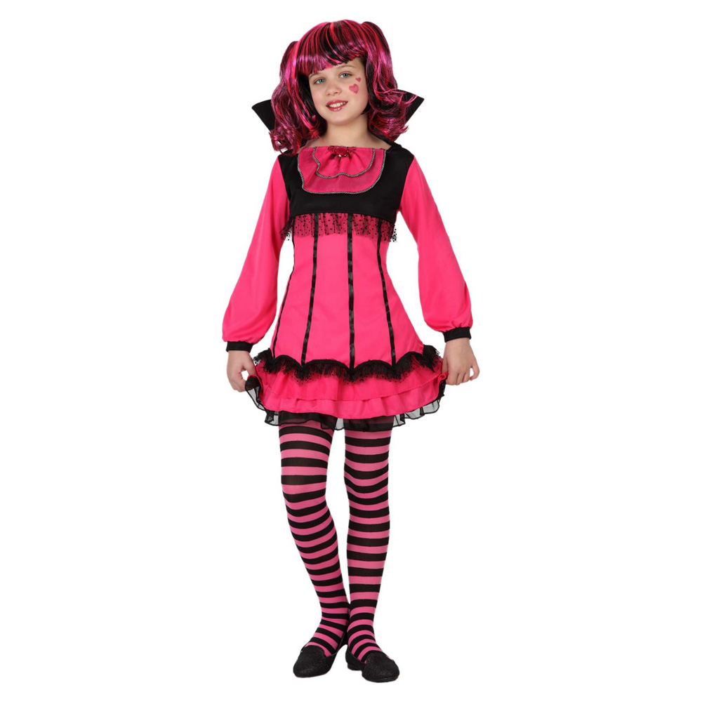D guisement vampire rose fille halloween - Deguisement halloween fille vampire ...
