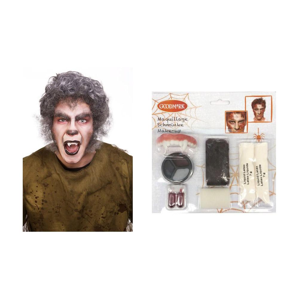 kit maquillage loup garou halloween. Black Bedroom Furniture Sets. Home Design Ideas