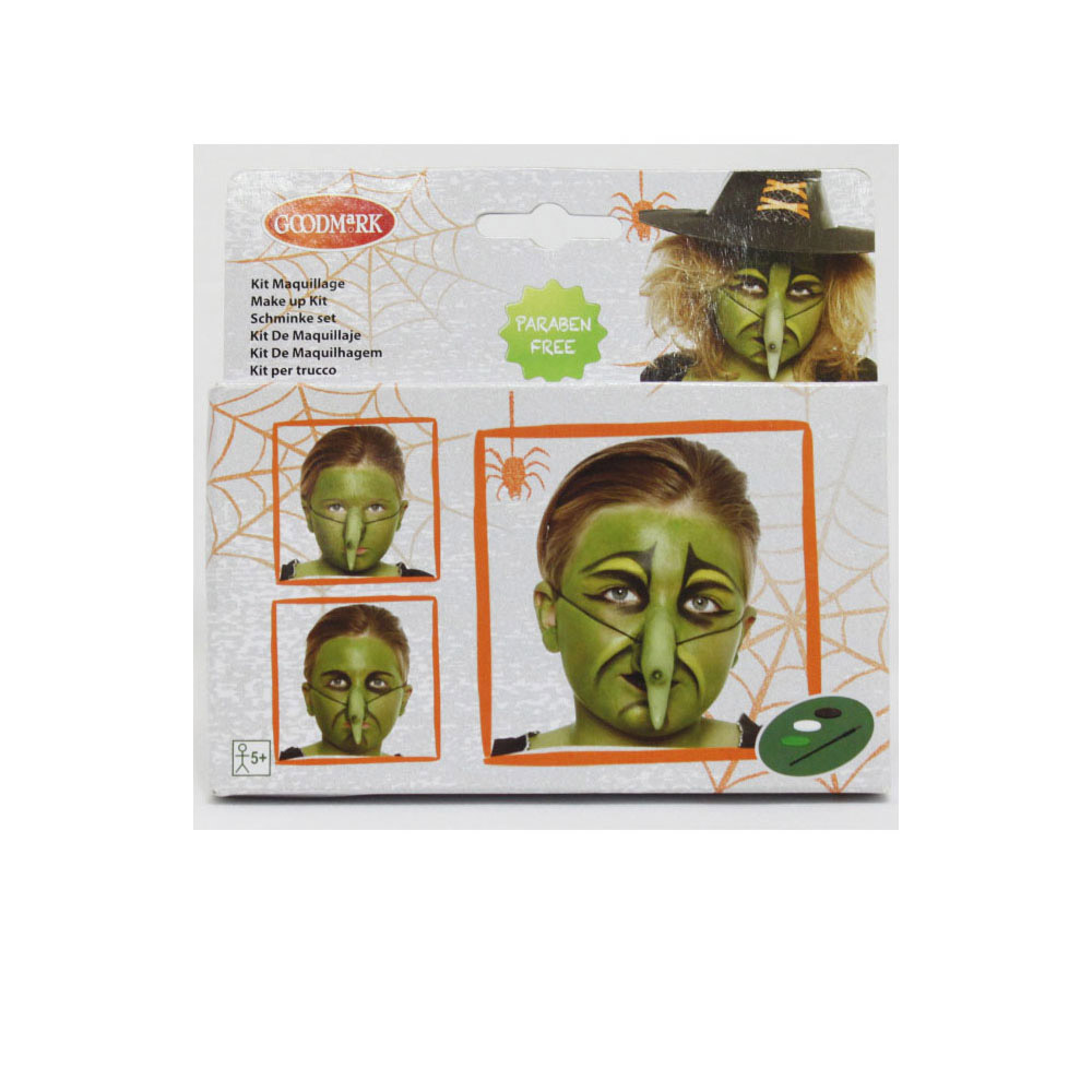 Kit maquillage sorci re enfant halloween - Maquillage enfant sorciere ...