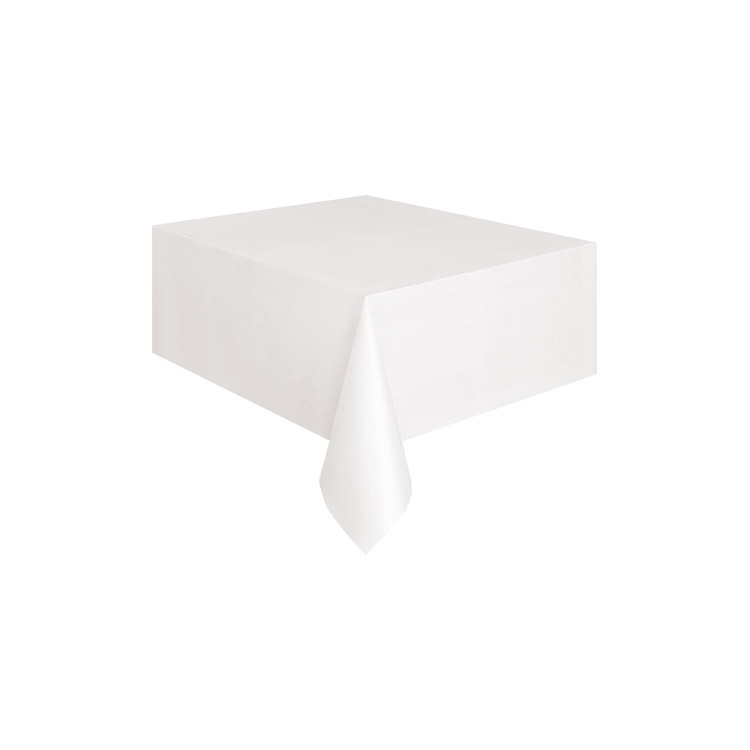 nappe rectangulaire en plastique blanche. Black Bedroom Furniture Sets. Home Design Ideas