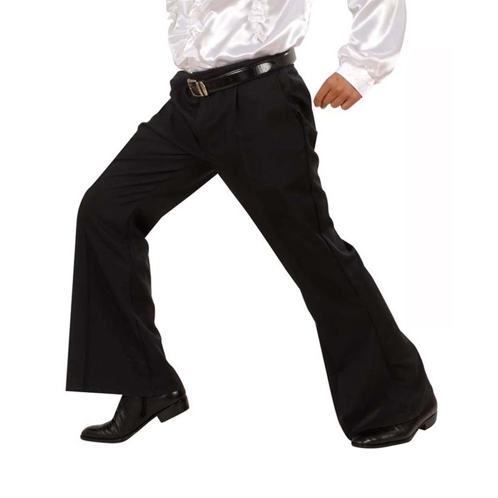 Noir D'éléphant Disco Homme Pattes Pantalon UzpVqSM