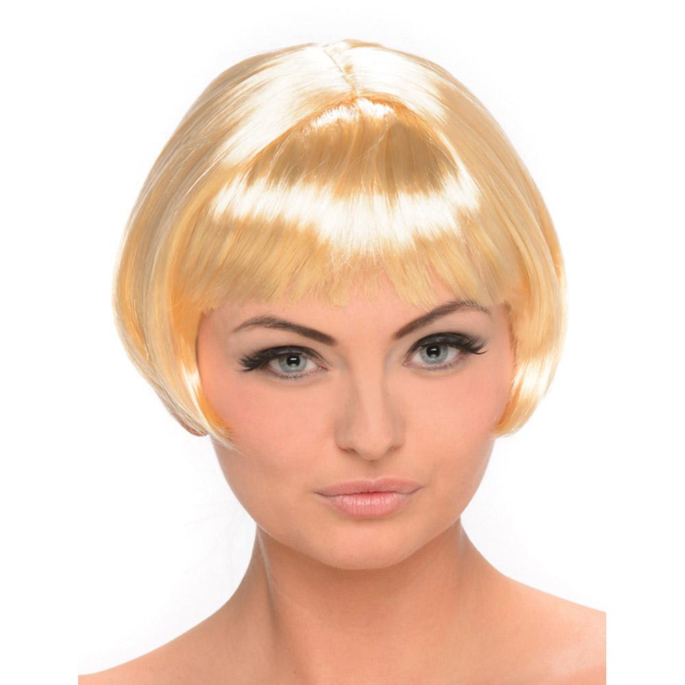 perruque blonde carr court femme. Black Bedroom Furniture Sets. Home Design Ideas